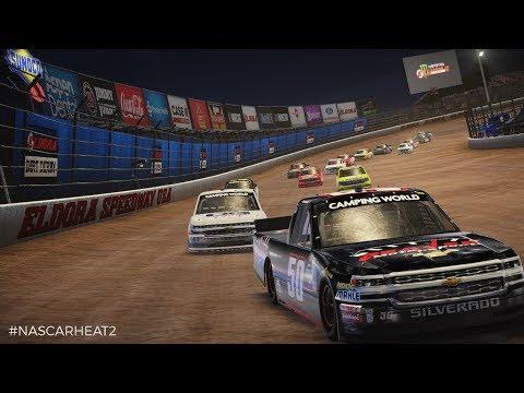 NASCAR Heat 2 - Racing Trucks At Eldora Speedway