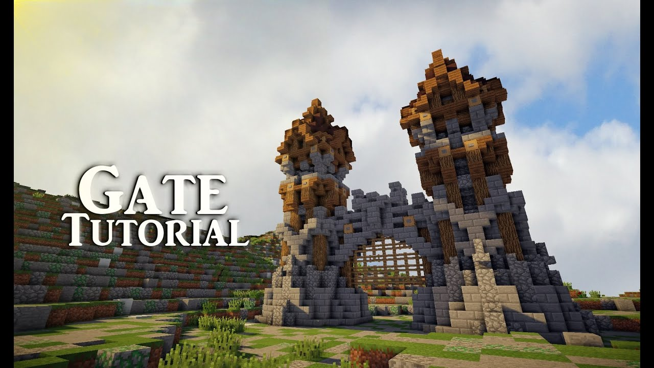 minecraft gate. Wonderful Gate Intended Minecraft Gate
