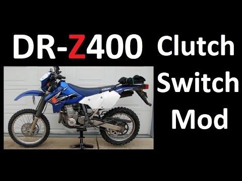 MANDATORY MODS! DR-Z400 Clutch Switch Bypass Ignition DIY - SUZUKI DRZ