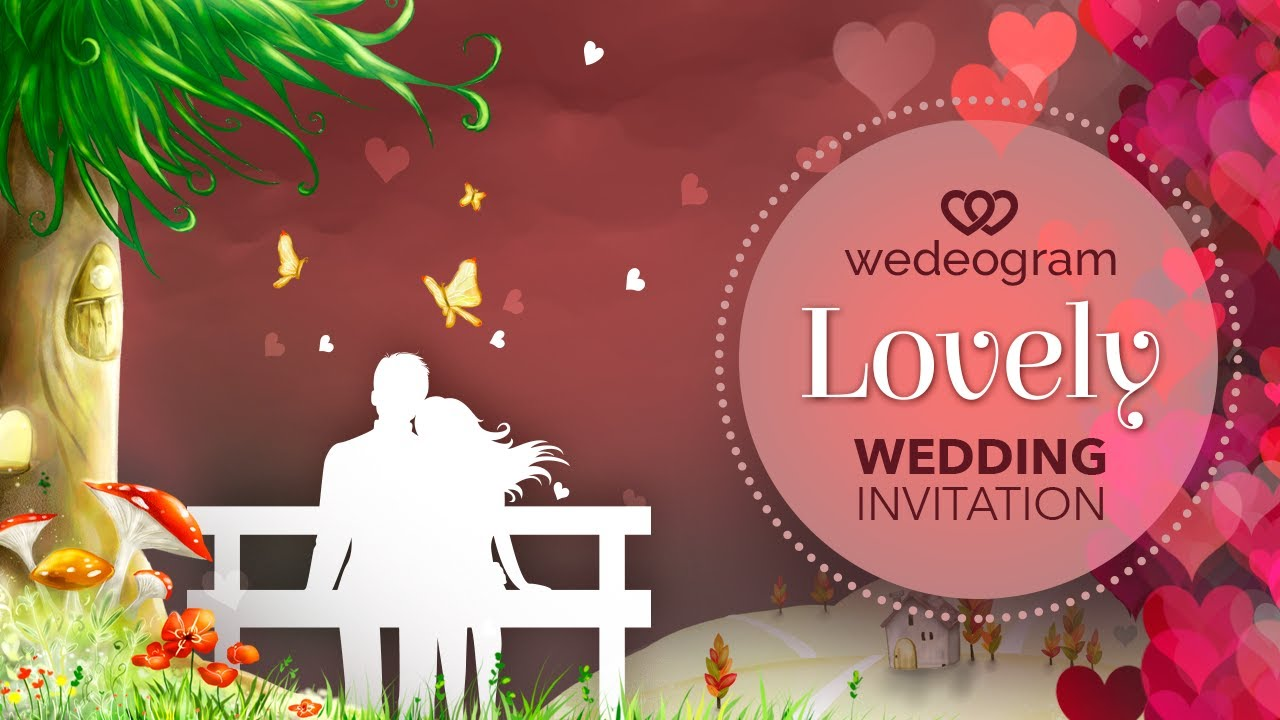 Wedding Invitation Video Maker E Invites Wedeogram