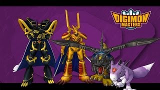 Digimon Masters - Jogress Alphamon Ouryuken (parte 01)