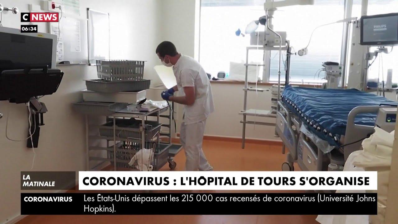 Coronavirus : l'hôpital de Tours s'organise pour faire face à l'épidémie