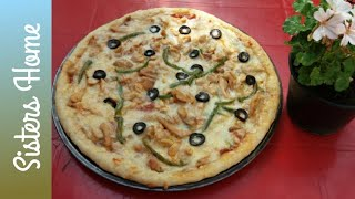 chicken pizza recipe by sisters home