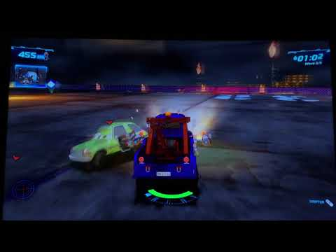 Cars 2 The Video Game | Mater Ivan-Oil Rig Hunter Mode |