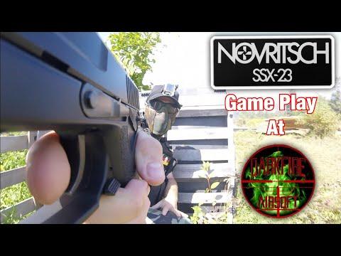 Novritsch SSX-23 Game Play At Darkfire