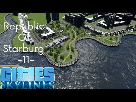 Cities Skylines: The Republic Of Starburg - Part 11 - Sustainable District