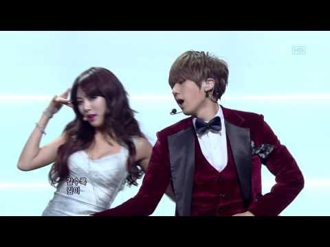 [HD] Trouble Maker - [JS & HYUNA] - Live version!