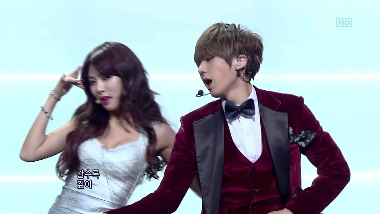[HD] Trouble Maker - [JS & HYUNA] - Live version! - YouTube