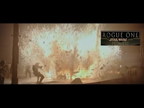 Rogue One World Premiere Featurette New Footage - Rogue One A Star Wars Story