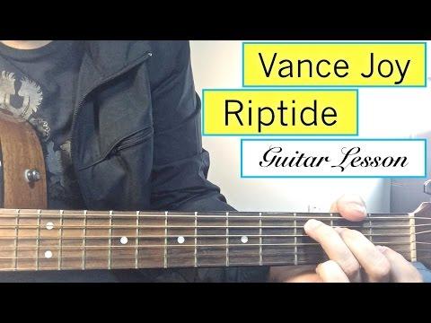 "Guitar guitar chords riptide : Riptide"" - Vance Joy | Guitar Tutorial Easy Lesson - YouTube"