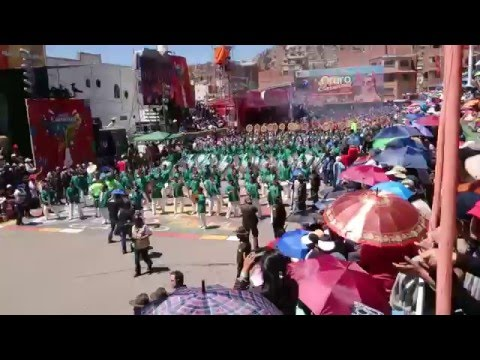 """Morenada Central Oruro """"La Mejor del mundo"""" - la Banda Espectacular Bolivia"""