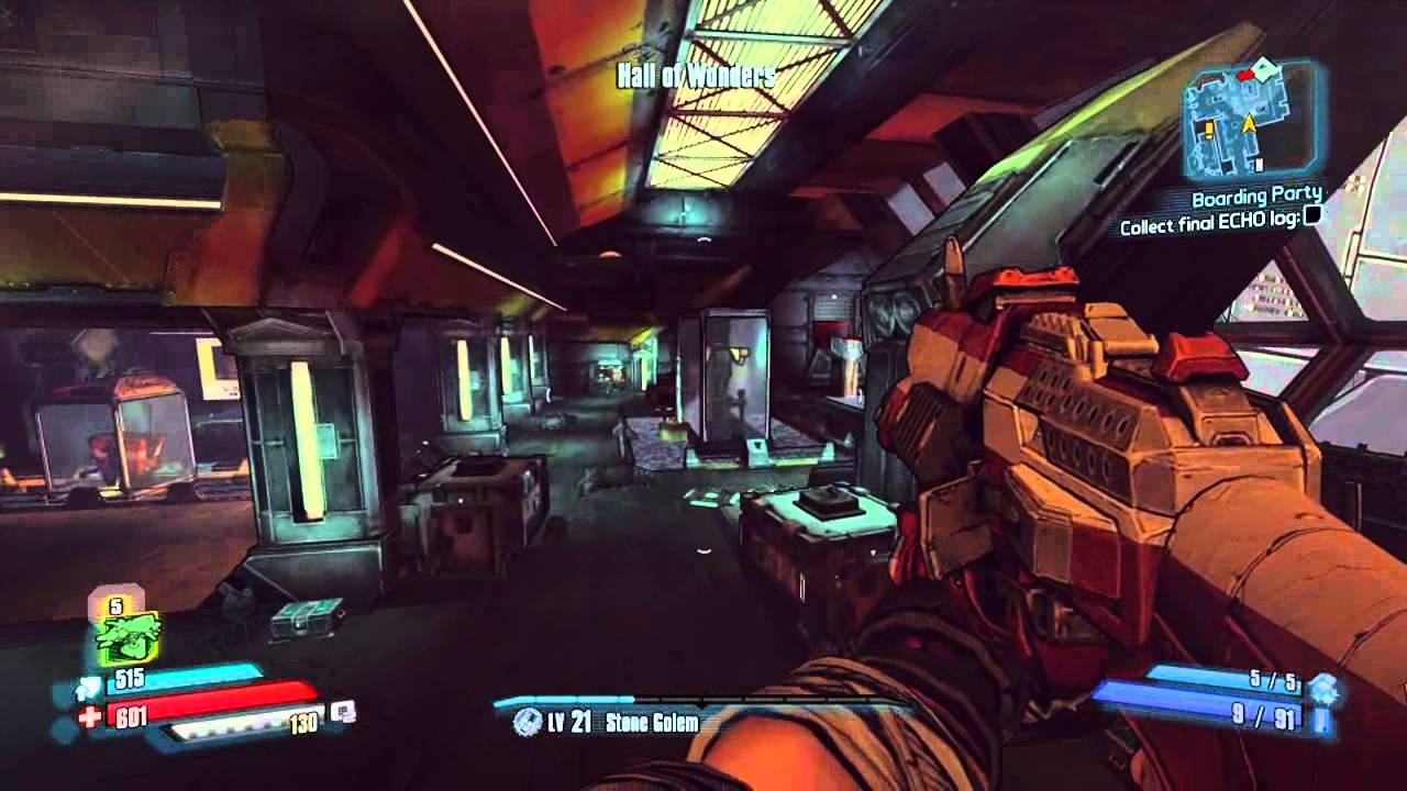 Borderlands The Pre Sequel - Boarding Party - Side Mission - YouTube