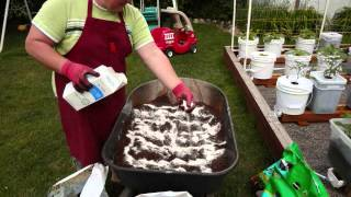 Planting Tips For The Self Watering Rain Gutter Grow System!