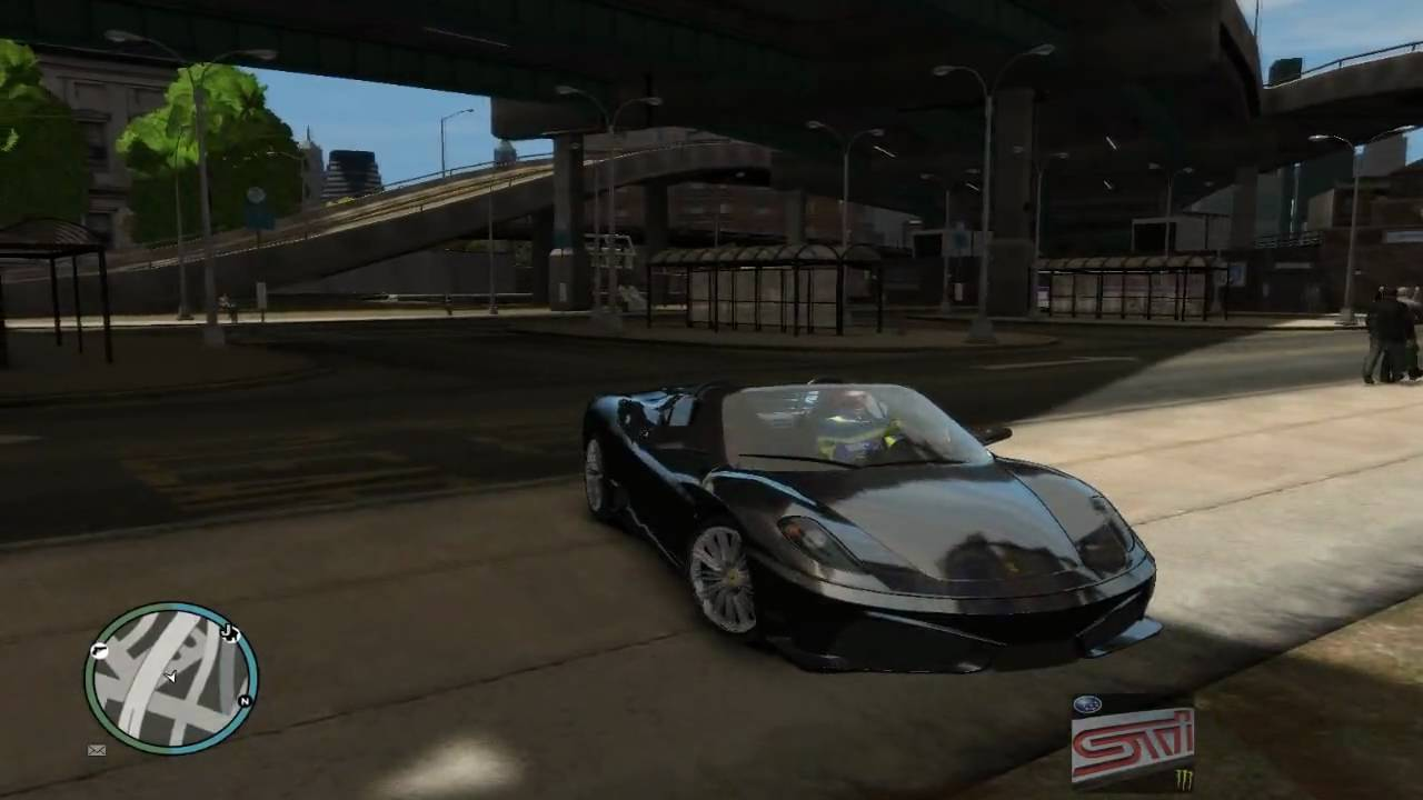 Sample Vehicle Reflection Gta IV PC Medium Setting