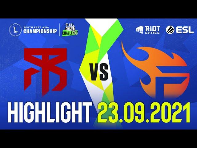 MBR vs FL l Highlight SEA Championship (23.09.2021)
