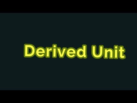 Download Derived Units