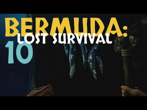 THIS IS WHERE YOU FIND IRON ORE!  |  BERMUDA: LOST SURVIVAL  |  Let's Play  |  Lesson 10