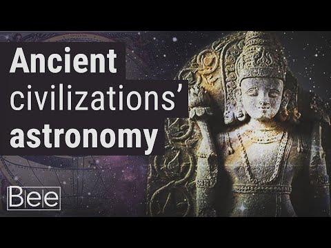 Ancient civilisations that studied astronomy