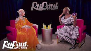 The Pit Stop S12 E1 | Bob The Drag Queen & Sasha Velour Recap the Premiere | RuPaul's Drag Race