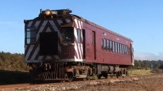 Aussie Doodlebug in the Central Highlands - 63RM on the DSCR: Australian Trains
