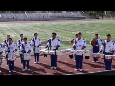 First Avenue Middle School Drum Line  at AFOB 2016 Part 2