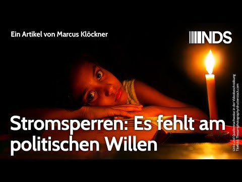 Stromsperren: Es fehlt am politischen Willen | Marcus Klöckner | NachDenkSeiten-Podcast | 04.07.2020