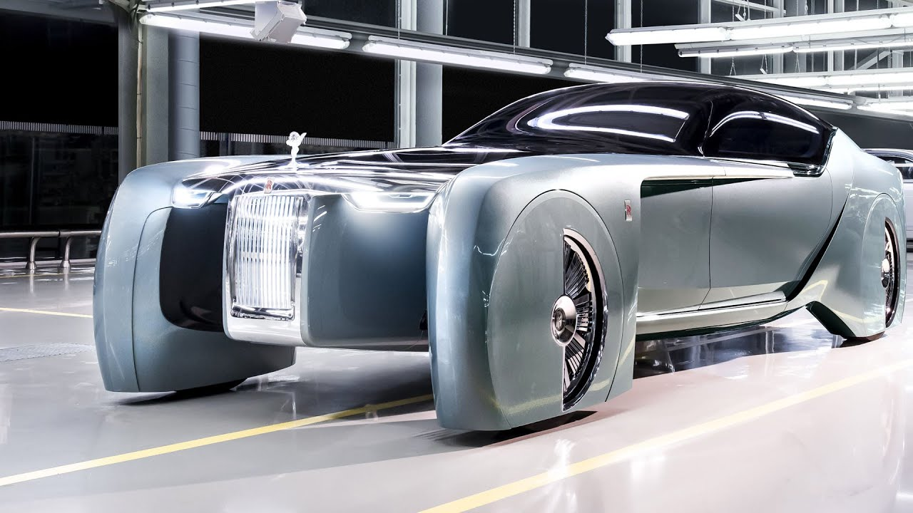 OFFICIAL: 2016 Rolls-Royce 103EX Concept - YouTube
