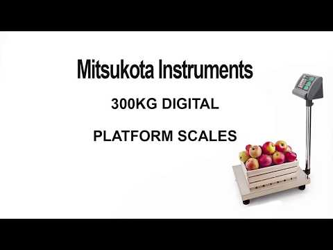 300kg Electronic Digital Platform Scale Commercial Market Shop Scales Weight