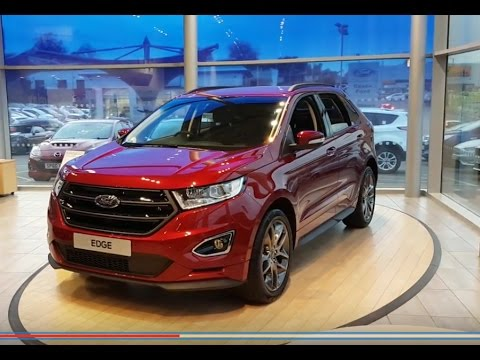 2016 ford edge sport review interior and exterior youtube. Black Bedroom Furniture Sets. Home Design Ideas