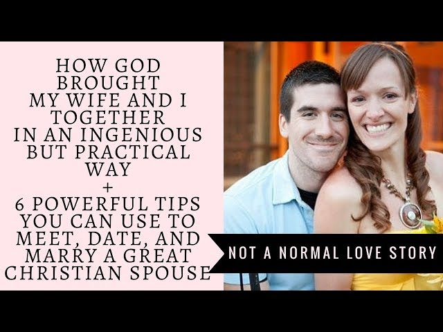 How to find a christian wife