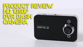 1080P DVR DashCam Review