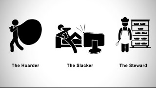 The Hoarder, the Slacker and the Steward