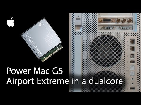 power mac g5 quad airport card