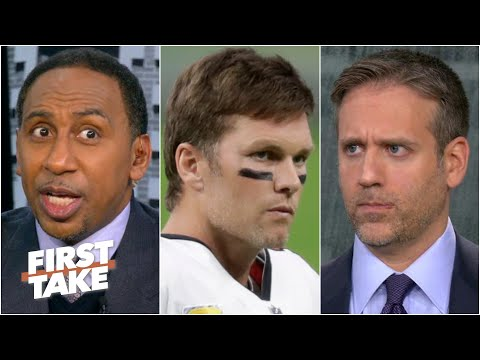'You're pathetic!' - Stephen A. slams Max's Tom Brady take | First Take