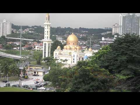 Radio Televisyen Malaysia RTM .64 Years Broadcasting services .Buildings Scene