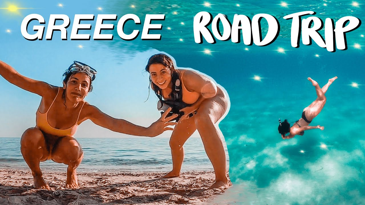 GREECE ROAD TRIP 😍🇬🇷 Thessaloniki + Halkidiki First Leg