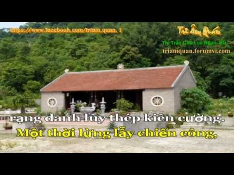 Karaoke: Yêu biết mấy Bắc Giang quê ta HD (organ)