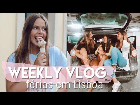 WEEKLY VLOG : Férias em Lisboa & Câmara Nova || Sara Vicario