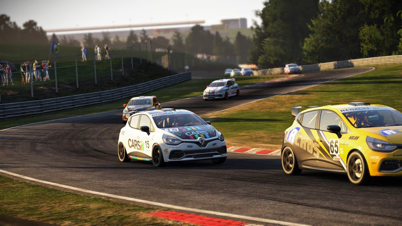 project cars renault clio cup race at nordschliefe youtube. Black Bedroom Furniture Sets. Home Design Ideas