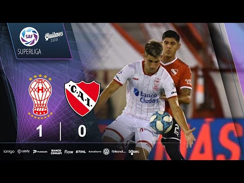 Fecha 22: resumen de Huracán - Independiente