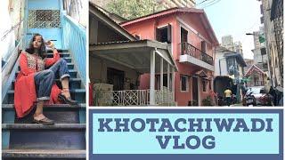KHOTACHIWADI VLOG  ||  GIRGAON CHOWPATTY ||