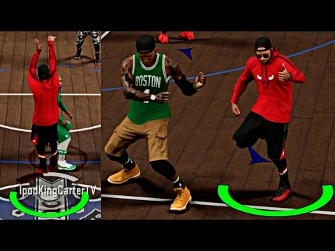 SUPER DEEP RANGE GREEN 3's! I HAVE TO CARRY MY SQUAD TO WINS! - NBA 2K17 MyPark