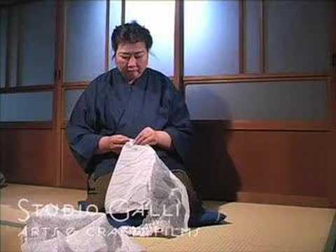 Orinui (hand stitching): Arimatsu•Narumi Shibori DVD