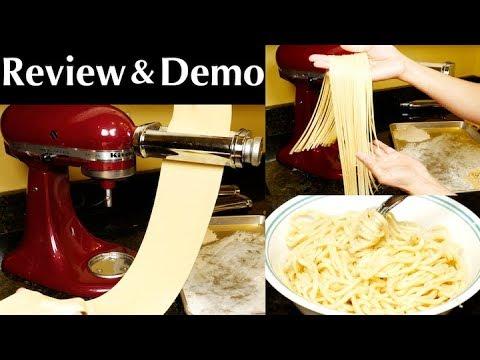 Kitchenaid Ksmpra 3 Piece Pasta Roller Cutter Attachment Set
