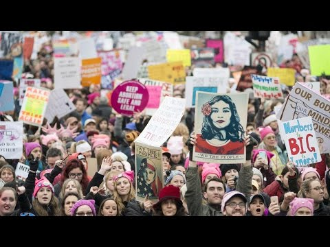Women's March Floods Washington