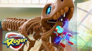 Cartoons For Children | Space Ranger Roger | Full Episode - Roger's T-Rex Trouble