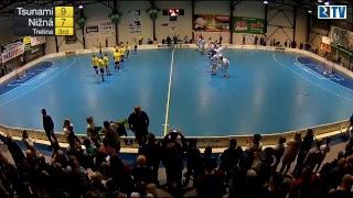 5. 4. 2017 5. zápas MEX semifinále play off Tsunami Záhorská Bystrica - TJ A - FbO Nižná