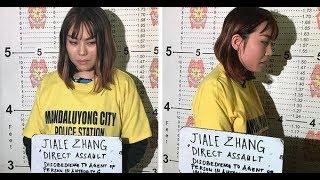 Chinese na nagsaboy ng taho sa pulis sa MRT, arestado
