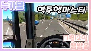 20/07/12 트로트와 추억팔이 가요만 있으면 어디든 갈 수 있thㅓ [유로트럭2/Euro Truck Simulator2]