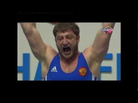 Akkaev, 2011 European Weightlifting Champion